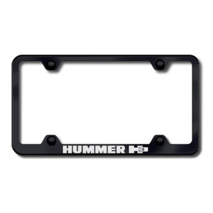 Au-TOMOTIVE GOLD | License Plate Covers and Frames | Hummer H3 | AUGD6017