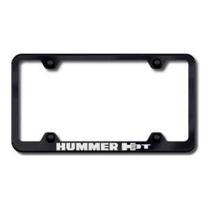 Au-TOMOTIVE GOLD | License Plate Covers and Frames | Hummer H3 | AUGD6018