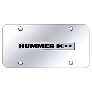 Au-TOMOTIVE GOLD | License Plate Covers and Frames | Hummer H3 | AUGD6022