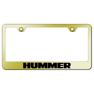 Au-TOMOTIVE GOLD | License Plate Covers and Frames | Hummer | AUGD6026
