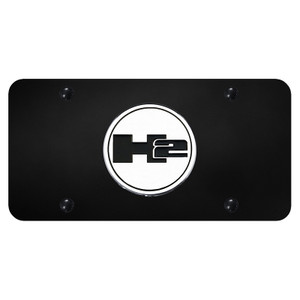 Au-TOMOTIVE GOLD | License Plate Covers and Frames | Hummer H2 | AUGD6027