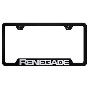Au-TOMOTIVE GOLD | License Plate Covers and Frames | Jeep Renegade | AUGD6576