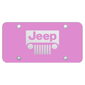 Au-TOMOTIVE GOLD   License Plate Covers and Frames   Jeep   AUGD6615