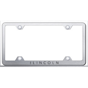 Au-TOMOTIVE GOLD | License Plate Covers and Frames | Lincoln | AUGD6783