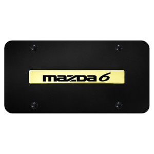Au-TOMOTIVE GOLD | License Plate Covers and Frames | Mazda 6 | AUGD7159