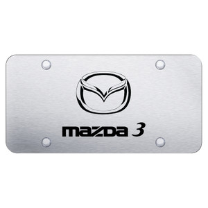 Au-TOMOTIVE GOLD | License Plate Covers and Frames | Mazda 3 | AUGD7160