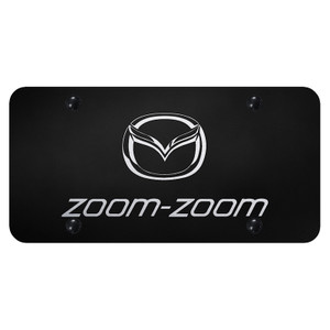 Au-TOMOTIVE GOLD | License Plate Covers and Frames | Mazda | AUGD7161