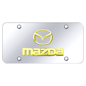 Au-TOMOTIVE GOLD | License Plate Covers and Frames | Mazda | AUGD7164