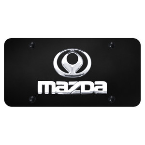 Au-TOMOTIVE GOLD | License Plate Covers and Frames | Mazda | AUGD7165