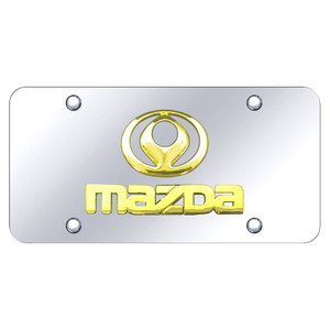 Au-TOMOTIVE GOLD | License Plate Covers and Frames | Mazda | AUGD7166