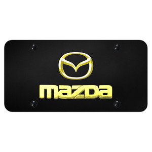 Au-TOMOTIVE GOLD | License Plate Covers and Frames | Mazda | AUGD7169