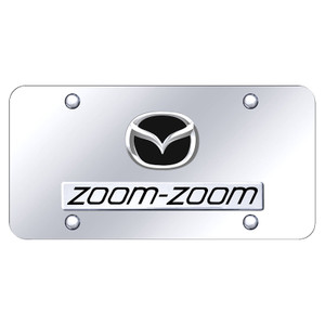 Au-TOMOTIVE GOLD | License Plate Covers and Frames | Mazda | AUGD7172