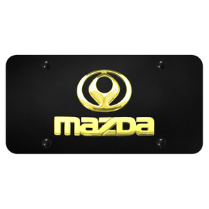 Au-TOMOTIVE GOLD | License Plate Covers and Frames | Mazda | AUGD7174