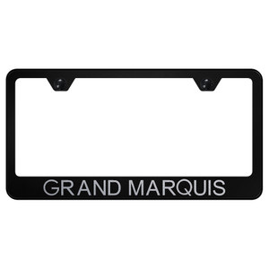 Au-TOMOTIVE GOLD | License Plate Covers and Frames | Mercury Grand Marquis | AUGD7227