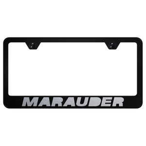 Au-TOMOTIVE GOLD | License Plate Covers and Frames | Mercury Marauder | AUGD7228