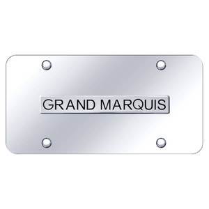 Au-TOMOTIVE GOLD | License Plate Covers and Frames | Mercury Grand Marquis | AUGD7229