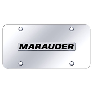 Au-TOMOTIVE GOLD | License Plate Covers and Frames | Mercury Marauder | AUGD7230