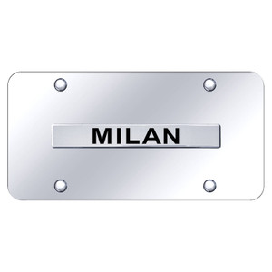 Au-TOMOTIVE GOLD | License Plate Covers and Frames | Mercury Milan | AUGD7231