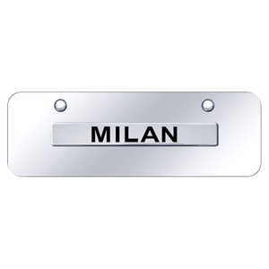 Au-TOMOTIVE GOLD | License Plate Covers and Frames | Mercury Milan | AUGD7232