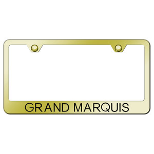Au-TOMOTIVE GOLD   License Plate Covers and Frames   Mercury Grand Marquis   AUGD7239