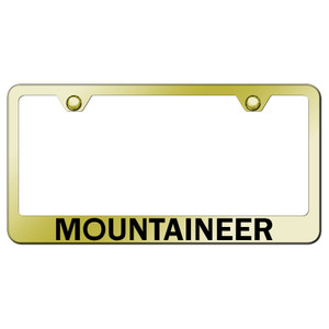 Au-TOMOTIVE GOLD | License Plate Covers and Frames | Mercury Mountaineer | AUGD7240