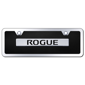 Au-TOMOTIVE GOLD | License Plate Covers and Frames | Nissan Rogue | AUGD7953