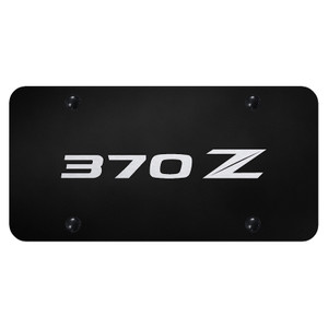 Au-TOMOTIVE GOLD | License Plate Covers and Frames | Nissan 370Z | AUGD8080