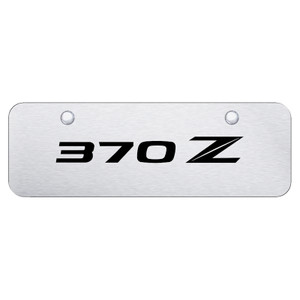 Au-TOMOTIVE GOLD | License Plate Covers and Frames | Nissan 370Z | AUGD8081