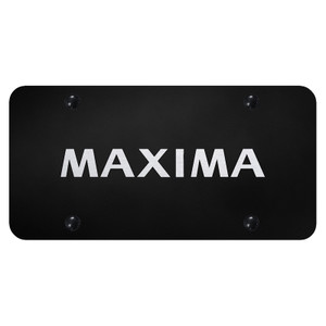 Au-TOMOTIVE GOLD | License Plate Covers and Frames | Nissan Maxima | AUGD8084