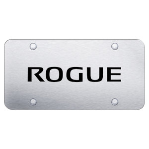 Au-TOMOTIVE GOLD | License Plate Covers and Frames | Nissan Rogue | AUGD8085