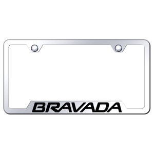 Au-TOMOTIVE GOLD | License Plate Covers and Frames | Oldsmobile Bravada | AUGD8087