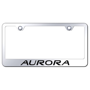 Au-TOMOTIVE GOLD | License Plate Covers and Frames | Oldsmobile Aurora | AUGD8090