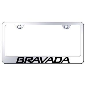 Au-TOMOTIVE GOLD | License Plate Covers and Frames | Oldsmobile Bravada | AUGD8091