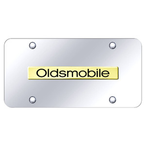 Au-TOMOTIVE GOLD | License Plate Covers and Frames | Oldsmobile | AUGD8098