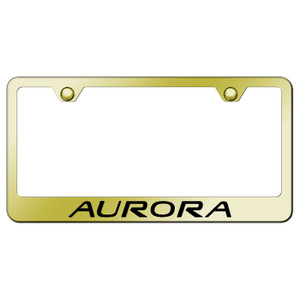 Au-TOMOTIVE GOLD | License Plate Covers and Frames | Oldsmobile Aurora | AUGD8099
