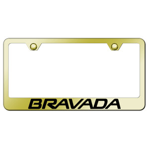 Au-TOMOTIVE GOLD | License Plate Covers and Frames | Oldsmobile Bravada | AUGD8100