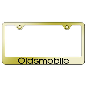 Au-TOMOTIVE GOLD | License Plate Covers and Frames | Oldsmobile | AUGD8101