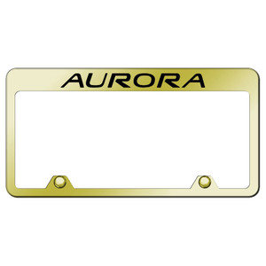 Au-TOMOTIVE GOLD | License Plate Covers and Frames | Oldsmobile Aurora | AUGD8102