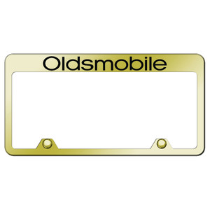 Au-TOMOTIVE GOLD | License Plate Covers and Frames | Oldsmobile | AUGD8103