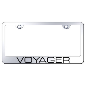 Au-TOMOTIVE GOLD | License Plate Covers and Frames | Chrysler Voyager | AUGD8157