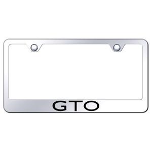 Au-TOMOTIVE GOLD | License Plate Covers and Frames | Pontiac GTO | AUGD8163