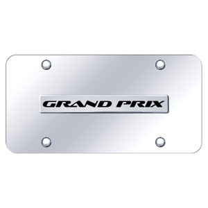 Au-TOMOTIVE GOLD | License Plate Covers and Frames | Pontiac Grand Prix | AUGD8176