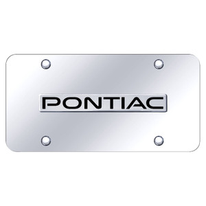 Au-TOMOTIVE GOLD | License Plate Covers and Frames | Pontiac | AUGD8178