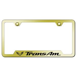 Au-TOMOTIVE GOLD | License Plate Covers and Frames | Pontiac Firebird | AUGD8181