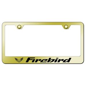 Au-TOMOTIVE GOLD | License Plate Covers and Frames | Pontiac Firebird | AUGD8182