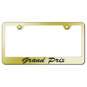 Au-TOMOTIVE GOLD | License Plate Covers and Frames | Pontiac Grand Prix | AUGD8183
