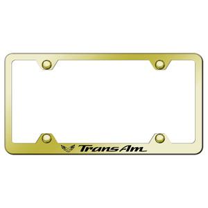 Au-TOMOTIVE GOLD | License Plate Covers and Frames | Pontiac Firebird | AUGD8184