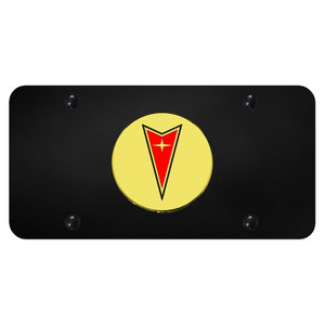 Au-TOMOTIVE GOLD | License Plate Covers and Frames | Pontiac | AUGD8187