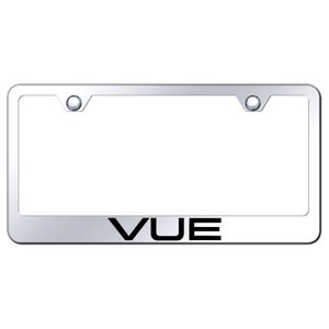 Au-TOMOTIVE GOLD | License Plate Covers and Frames | Saturn Vue | AUGD8291