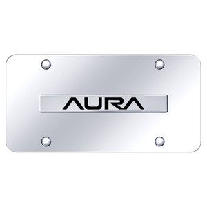 Au-TOMOTIVE GOLD | License Plate Covers and Frames | Saturn Aura | AUGD8293